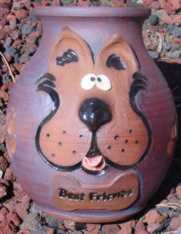 custom ceramic handmade pet urns